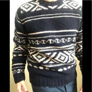 Ezra Fitch Wool Crewneck Sweater